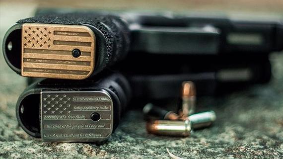 Custom Glock Back Plates | Classy Raptor Tactical